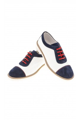 Navy blue and white boy's shoes, Colorichiari
