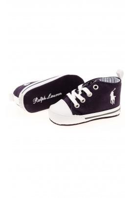 Navy blue baby sneakers, Polo Ralph Lauren
