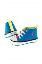 Turquoise baby trainers, Polo Ralph Lauren