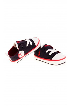 Navy blue baby trainers, Polo Ralph Lauren