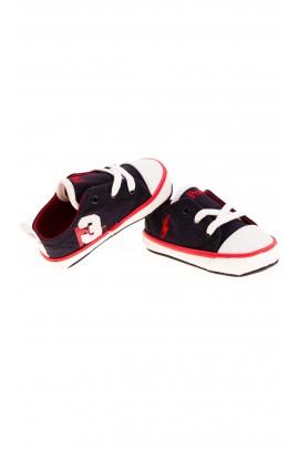 Navy blue baby trainers, Polo Ralph Lauren