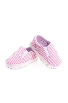 Pink-and-white baby shoes, Polo Ralph Lauren