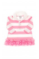 Dress with pink-and-white stripes, Polo Ralph Lauren