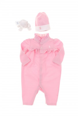 Pink baby set, Polo Ralph Lauren