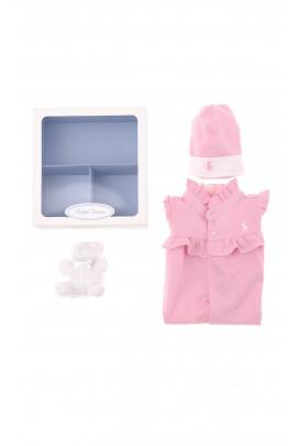 Pink baby set, Polo Ralph Lauren