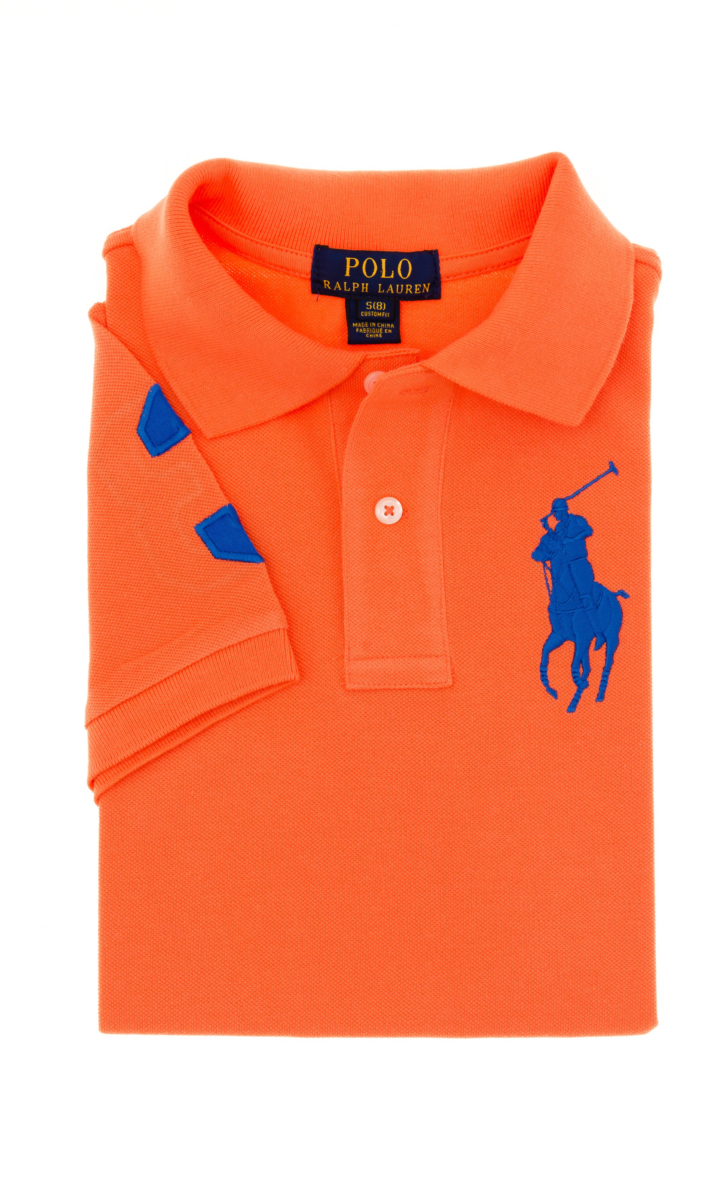 Boy ShirtRalph Orange Lauren Celebrity Polo Club TFKJc13l