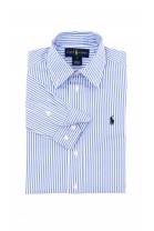 Boy shirt with white-and-blue stripes, Polo Ralph Lauren
