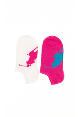 Pink girls socks, Polo Ralph Lauren