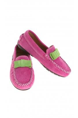 Pink moccasins, Atlanta Mocassin