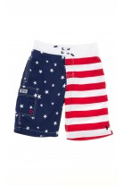Swim shorts with an American flag design, Polo Ralph Lauren