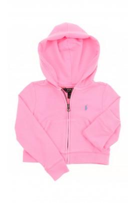 Pink zipped hoodie, Polo Ralph Lauren