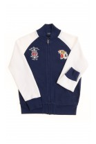 White and navy blue boy sweatshirt, Polo Ralph Lauren