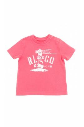 Burgundy boy t-shirt, Polo Ralph Lauren