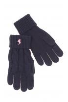 Navy blue girl gloves, Polo Ralph Lauren