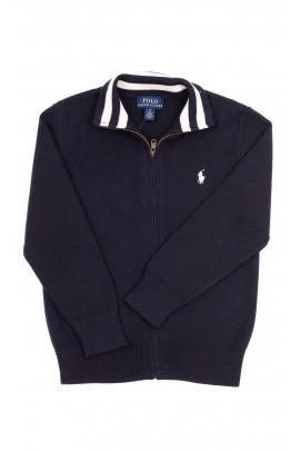 Navy blue zipped sweater, Polo Ralph Lauren
