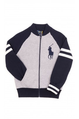 Double-sided zipped sweater, Polo Ralph Lauren