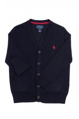 Navy blue boy cardigan, Polo Ralph Lauren