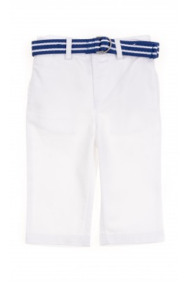 White baby trousers, Polo Ralph Lauren