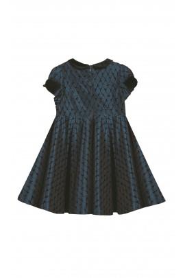 Navy blue dress, Tartine et Chocolat
