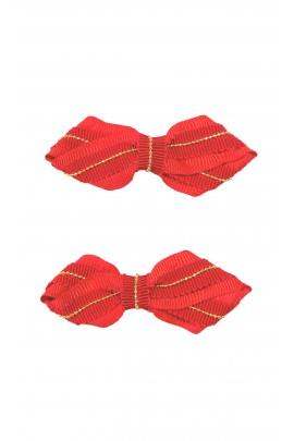 Decorative red hairpins, Tartine et Chocolat