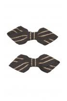 Decorative navy blue hairpins, Tartine et Chocolat