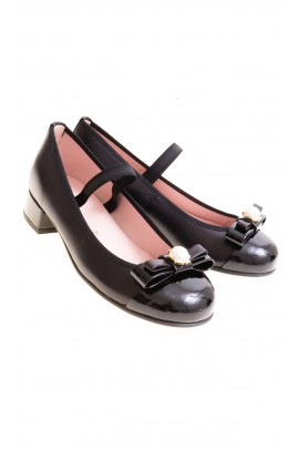 Black heeled pumps, Pretty Ballerinas