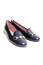 Navy blue pumps, Pretty Ballerinas