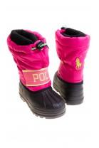 Pink snow boots, Polo Ralph Lauren