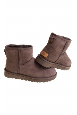 Chocolate brown boots, UGG