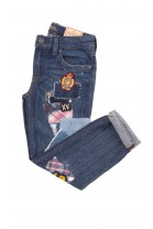 Jeans with embroidered designs, Polo Ralph Lauren