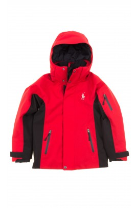 Red professional ski jacket, Polo Ralph Lauren