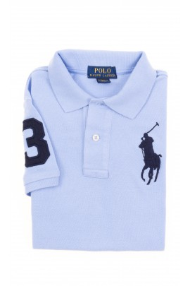Blue boy polo shirt, Polo Ralph Lauren