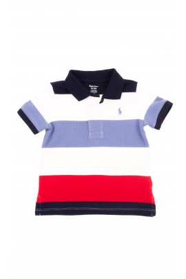 Boy polo shirt colourfully striped, Polo Ralph Lauren