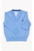 Blue V-neck boy sweater, Polo Ralph Lauren