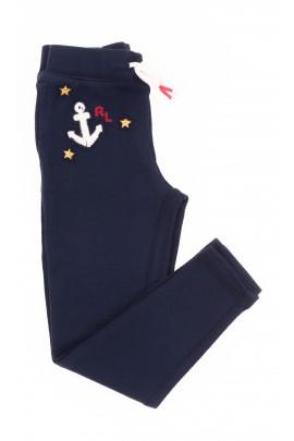 Navy blue girl leggings, Polo Ralph Lauren