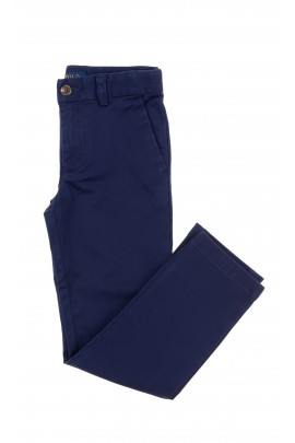 Elegant navy blue boy trousers, Polo Ralph Lauren