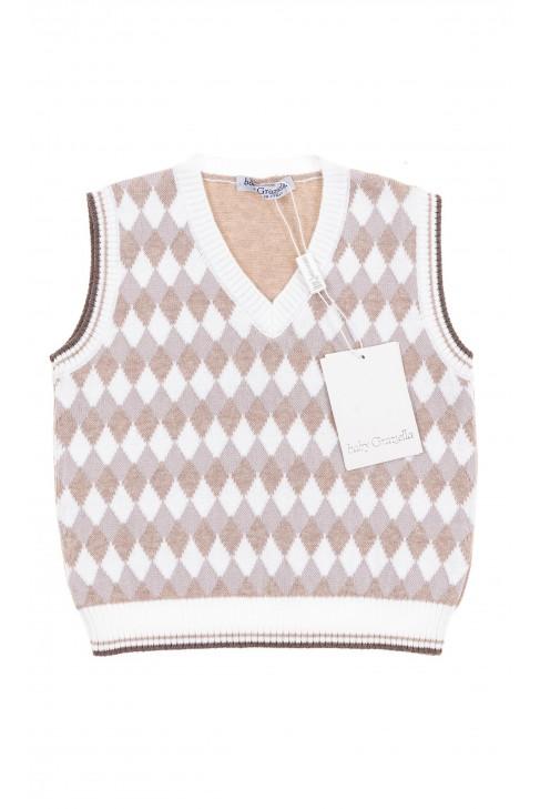 Boy vest, Baby Graziella