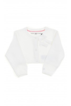 White baby cardigan, Tommy Hilfiger