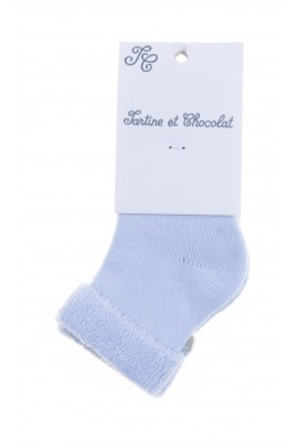 Blue socks, Tartine et Chocolat