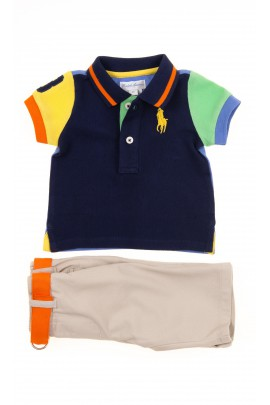 Boy set polo shirt + trousers, Polo Ralph Lauren