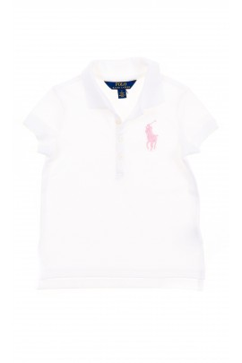 White girl polo shirt with a pink horse, Polo Ralph Lauren