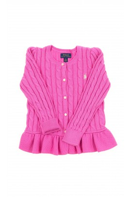 Pink girl cardigan, Polo Ralph Lauren