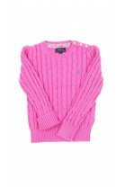 Pink girl jumper, Polo Ralph Lauren