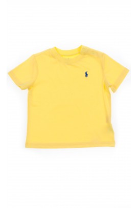 Yellow baby t-shirt, Polo Ralph Lauren