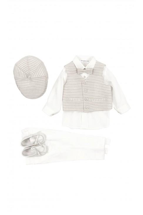 Boy 4-piece set for the baptism, Colorichiari