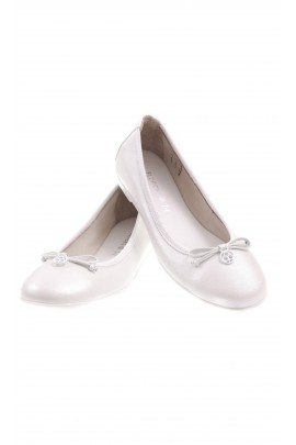 White girl leather pumps, Florens