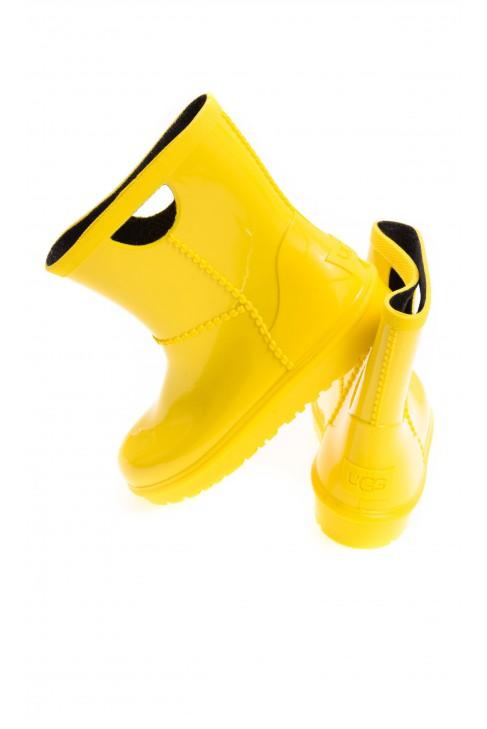 Yellow wellingtons, UGG