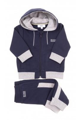 Navy blue baby tracksuit, Hugo Boss