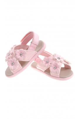 Pink sandals with straps, UGG