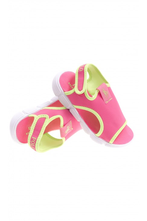 Pink beach sandals, Polo Ralph Lauren
